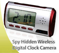 Wholesale Multi function clock Hidden Video Spy Camera DVR Vedio Camera