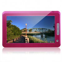 Wholesale 4GB inch TFT Touch Screen Pink E book Reader