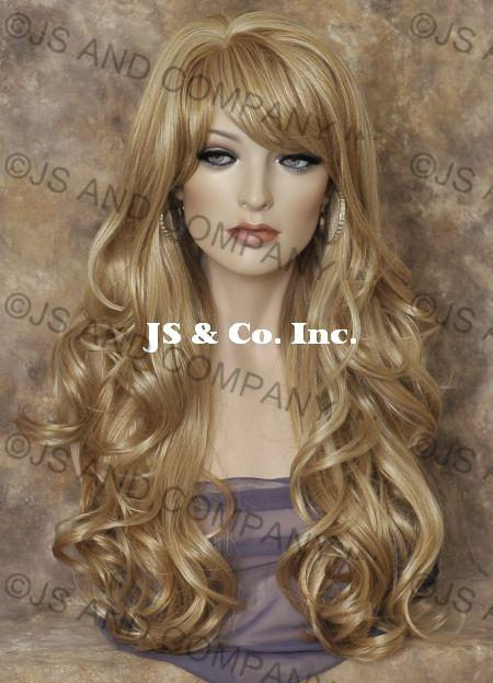 Blended Hair Wigs Blend Long Wavy ny Wig Blonde