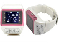 Wholesale Touch Q8 Cell Phone Watch Mobile Mp3 Mp4 BLUETOOTH Quadband Dual sim cards super hot