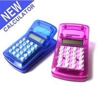 Wholesale Pocket calculator Multi function calculator Magnetic clip calculator mini cheap christmas gift