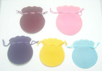 Wholesale Velvet Jewelry Gift Bags Pouches Mix color B06
