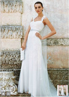 Wholesale 2012 Lace Cap sleeve Trumpet with Keyhole Back and Sash Bridal Gowns Wedding Dress Dresses K