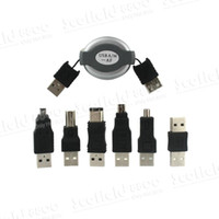 2-4 USB 2.0 1.5Mbps Hot Sale Travel Computer Cable Portable Bi-directional Flexible Computer Signal Cable USB Cell Phone