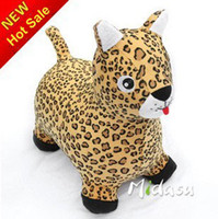 Wholesale Plush animal Jumping animal Puma ride on animal inflatable bouncers Kid s game best price