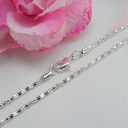 "DIY jewelry accessories silver plated necklace chains 21"" long necklace pendants chains SN10054 570x2mm 100pcs"