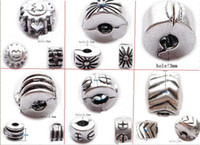 Wholesale Positioning beads silver buckle Filled bracelets or necklaces XXSC6