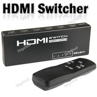 Wholesale Full HD P HDMI Splitter Switcher Selector with Remote Control output input