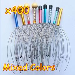 Wholesale 400pcs Hand Handy Scalp Manual Head Massager Reflexology Tingler Day SPA