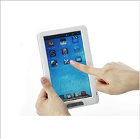 Wholesale Fast shipping Inch Touch screen Ebook Reader GB with MP3 MP4 FM radio function