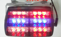 Wholesale 18 LED Strobe Flash Fire Deck Dash Blink LED Lights flashing modes RED BLUE RED WHITE Amber