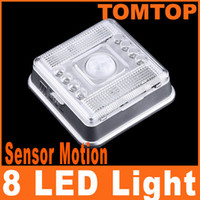 Wholesale LED Light Lamp PIR Auto Sensor Motion Detector home Light lamps H4053
