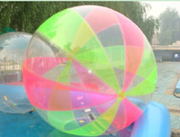 amusing balls games - amused Inflatable Water walking Zorb PVC Ball water sports Water Games colorized