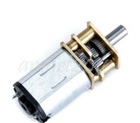 Wholesale 2pcs RPM Short Shaft Torque Gear Box Motor DC V