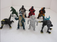 Wholesale Hot Classic Christmas items Godzilla Monsters Action Toy Figures DHL