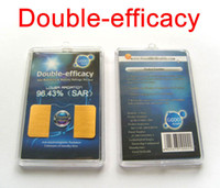 Wholesale MOQ Double Efficacy Cellphone Anti Radiation Sticker Cell Phone Mobile Phone Stickers