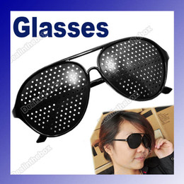 Wholesale Vision Care Pinhole Spectacles Astigmatism Eyesight Improve Eyes Glasses Eyewear Brand