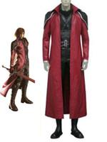 anime cosplay final fantasy - SET Final Fantasy VII Genesis Rhapsodos Cosplay Costume