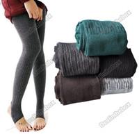 Wholesale Hot selling Comfortable Women Cotton Tights Pants Leggings Stirrup Winter Warm Colors