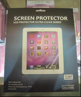 Wholesale Hot New Tablet PC Screen Protectors Screen Protective Film for Apple iPad Clear Tablet PC Accessories