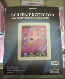 Hot New Tablet PC Screen Protectors Screen Protective Film for Apple iPad Clear Tablet PC Accessories