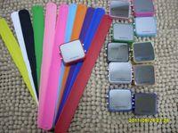 Wholesale New Luxury LED Watch Digital Display Jelly Silicone Sport watch Unisex watch Mirror quartz Watches