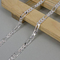 Wholesale The world s hot sale Zero profit new fashion charm silver MM men chain necklace jewelry