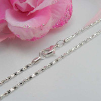 Asian & East Indian asian retail - hot selling and retail silver necklaces chains chians SN10054 x2mm
