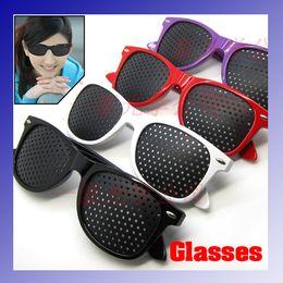 Wholesale Unisex Eyesight Vision Improve Pinhole Glasses Eyes Exercise