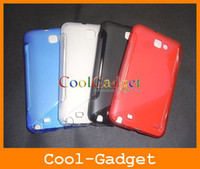 Wholesale S Line Gel Case Cover for Samsung Galaxy Note I9220 N7000 i717 G LTE I9220C01