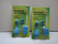 Wholesale Wristband anti lost alarm finder functins Anti Lost reminder forgetting Bell anti lost alarms