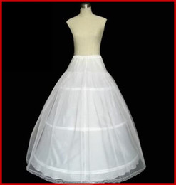 Wholesale Hot sale off HOOP Ball Gown BONE FULL CRINOLINE PETTICOAT WEDDING SKIRT SLIP H