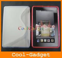 7'' amazon s kindle - S Line TPU Gel Skin case for Amazon Kindle Fire AKFC03