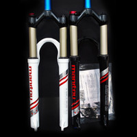 Wholesale 2011 MANITOU R7 PRO mountain fork pressure lock fork MM white black