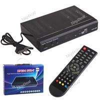 Cheap High Definition MPEG-2 MPEG-4 DVB-T HD Digital Terrestrial Receiver Set Top Box with Remote Control