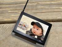 2pcs Cámara + 7 pulgadas de pantalla de color Wireless Video BABY MONITOR