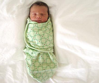 Wholesale Baby wipes swaddling bag Baby sleeping bags Pure cotton cocoon type clothes M Much style