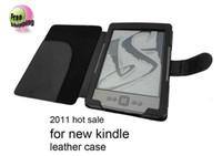Wholesale Kindle Case Kindle leather case Case for Amazon Kindle Wifi Free Bar code label