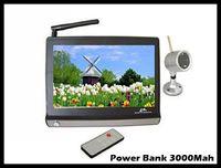 Regalo de la Navidad Monitor inalámbrico digital del bebé 2.4GHz 7 pantalla de la pulgada TFT con la cámara infrarroja
