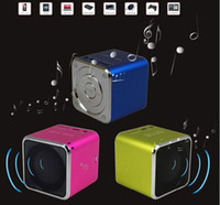 Wholesale MINI Speaker Music Angel Speaker MD07 with FM Multimedia Portable Speaker TF card speaker