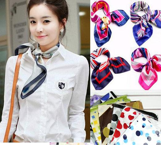 fashion flight attendant silk scarf small silk scarves 52