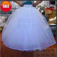 Wholesale wedding petticoats Bridal Accessories layer wedding petticoats bridal Petticoats A LINE HOOPLESS LAYERED BRIDAL WEDDING GOWN DRESS PET