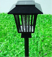 Wholesale Solar Mosquito Pest Insect Bug Killer Zapper Light Lamp