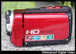 presente de Natal 3.0 & quot; Tela 16MP 1080 do FULL HD à prova d'água P vídeo Digital neoprene bolsa câmera ishoo Q