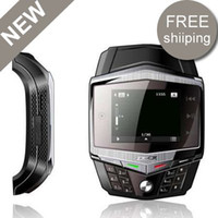 Wholesale Inch Quad Bands Super Slim TFT Touch Screen Watch Phone