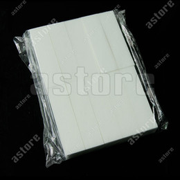 Wholesale 10 X White color Nail Art Buffer Buffing Sanding Files Block t48