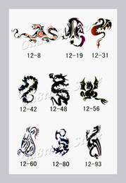 Wholesale Temporary Airbrush Tattoo Stencil book Template Booklet designs