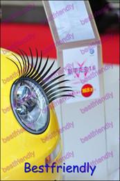 300PCS=150Pairs Motor Vehicle Eyelashes Car Eye Lashes Eyelash Car Logo Sticker Eyelash Eye-lashes