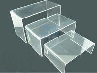 acrylic display riser - 3 LAYER CLEAR ACRYLIC DISPLAY RISER SHOWCASE STAND