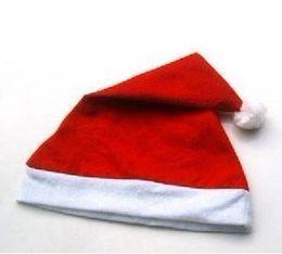 wholesale Big red Christmas hats Santa Claus hat 10pcs lot